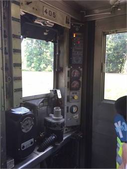 PTC equipment onboard one of SEPTA's trains.