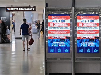In addition to the Suburban Station upgrades, Intersection will deploy nearly 300 new interactive digital displays with real-time train updates across subway and commuter rail lines.