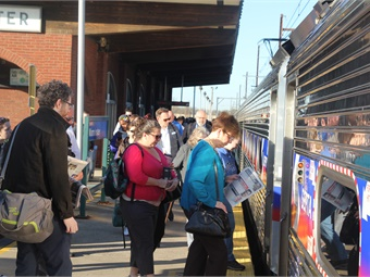 Transit agencies were notified that their state capital funding will drop dramatically next year, and operating funds will remain stagnant while system costs rise each year. SEPTA