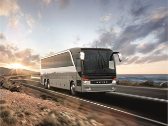 REV Coach will now manage Setra's after-sales services in North America. Photo: Daimler North America