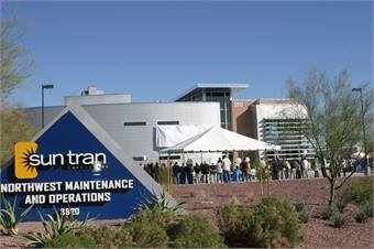 Sun Tran opens new bus facility - Rail - Metro Magazine