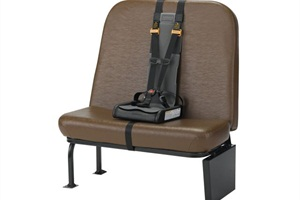 With IMMI's SafeGuard Summer Exchange Program, school districts can get a discount on the purchase of a new STAR restraint (pictured here) when they retire any brand of vest or other child restraint.
