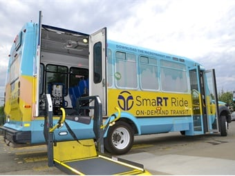 Using the all-new SmaRT Ride app, riders will be able to hail a vehicle directly from their smartphone.