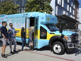 The SmaRT Ride program first launched in February 2018 and, due to its popularity and success, is growing across the city to bring dynamic shared transportation to even more residents.Via/SacRT