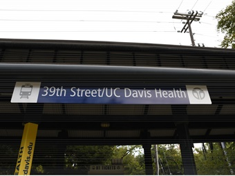 The 39th Street/UC Davis Health Station will be a key connection point for the future Aggie Square development, near Broadway and Stockton Blvd.