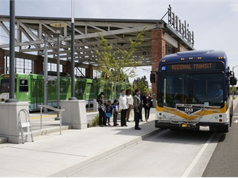 When passengers violate basic station rules like no smoking or drinking alcohol, agency security staff use the new remote P.A. system to communicate with the rulebreaker. Photo: Sacramento Regional Transit District