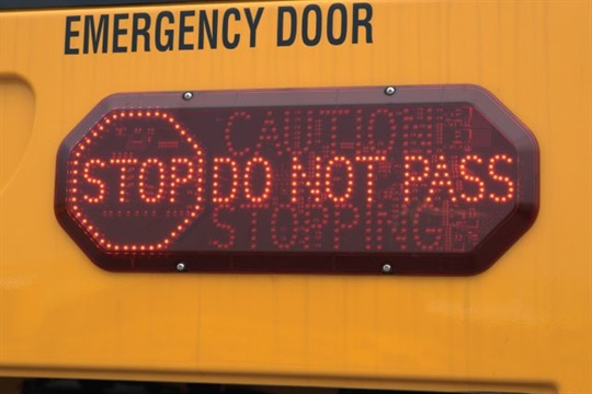 Lighted Warning Signs Approved for Use on Michigan School