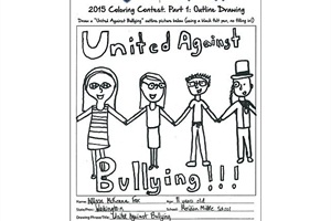 bullying colouring pag unique anti coloring pages