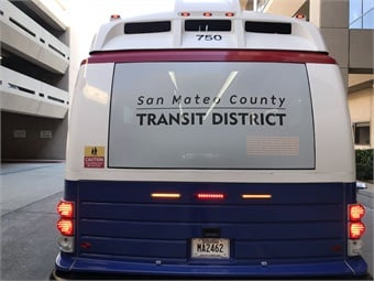 SamTrans is currently looking to replace the entirety of its fleet with zero-emissions vehicles by 2032.