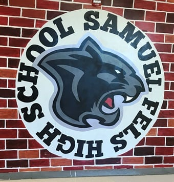 Samuel Fels High School logo. Photo: SEPTA