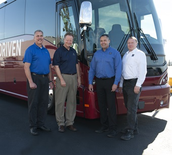 The San Francisco Bay Area Sales and Service Center will hold its grand opening November 14. Photo: Motor Coach Industries