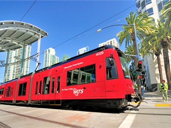 On the rail side, ridership increased by 621,063 passenger trips in the first quarter.