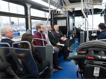 CATA CEO Sandy Draggoo (shown seated in center of photo). Courtesy CATA