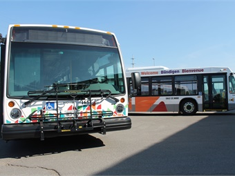 Sault Ste. Marie On-Demand allows riders to travel from one pre-existing established stop to another as requested. Via