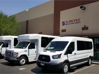 Schetky will be focusing on selling vehicles in this territory to the local transit agencies, tribes, and businesses.