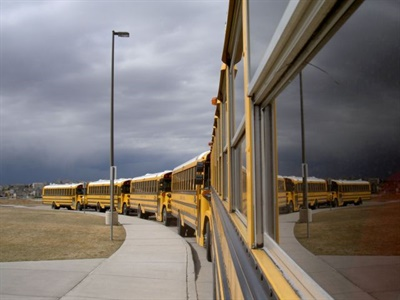 A North Carolina Department of Public Instruction study finds that some school systems offer drivers work in other departments to get them full-time hours and pay. File photo courtesy John Horton
