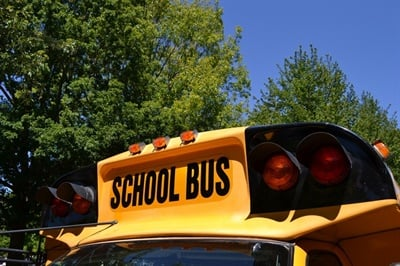 As many schools across the U.S. close due to the Coronavirus (COVID-19), some districtsuse Wi-Fi-enabled school buses to assist students in the transition to online learning. File photo