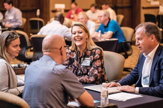 School Bus Fleet Connex will feature roundtable discussions, one-on-one meetings with suppliers, and networking activities. Seen here is another event produced by School Bus Fleet parent company Bobit Business Media.