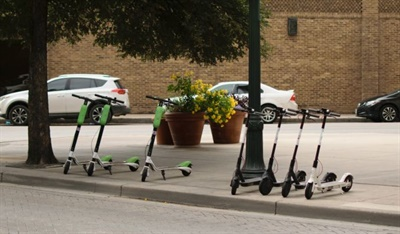 More than 85,000 scooters are now available for rent in the U.S. in over 100 cities. Photo courtesy FerrizFrame/signature collection/gettyimages
