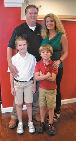 Scott and his wife, Samantha, are busy parents of two elementary-age children. Daughter Annabelle is 9 and son Addison is 5.