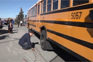 Washoe County (Nev.) School District stages an annual event to showcase its winter preparedness. Watch a video of the event at schoolbusfleet.com/washoewinter.