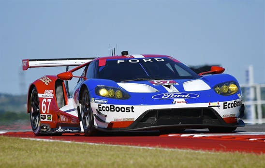 Ford GTs from Chip Ganassi Racing will be among theGTLM teams at COTA.