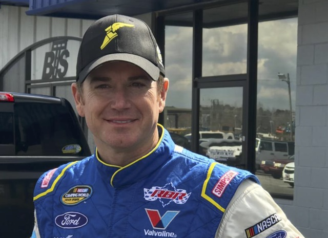 """""""It's awesome to be going to Martinsville with Ricky and this group of guys,"""" said Peters."""