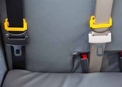 Lawmakers in Utah and Minnesota are consideringlegislation that would require school buses purchased after a certain date to be equipped with seat belts. Photo courtesy Des Moines (Iowa) Public Schools