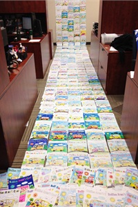 Since Seon's 2013 Coloring Contest received an overwhelming response last year, the company has decided to hold the contest annually. Pictured here are entries from last year's contest.