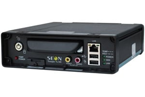 One of Seon's new offerings is the Trooper TL-HD, a compact, high-resolution digital video recorder.