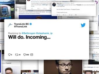 Screenshot of TransLink video