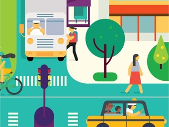 The Shared Mobility Principles provide a clear vision for the future of cities and create alignment between the city governments, private companies and NGOs working to make them more livable. Image: sharedmobilityprinciples.org