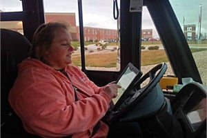 Wyoming's Sheridan County School District #1 has assigned iPads to 20 school buses. Drivers have access to a variety of information, including road and weather conditions, and details about the students on their buses.