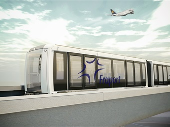 The Airval is a fully automated passenger transport system running on rubber tires and using a central rail guidance system. It offers high performance with short headways and is fitted with an energy management system that ensures high operating efficiency. Siemens
