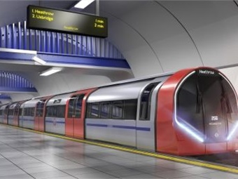 Siemens' state-of-the-art trains for the Tube will significantly improve the experience of millions of customers, with wider doors and longer, walk-through, fully air-conditioned carriages. Image: Transport for London