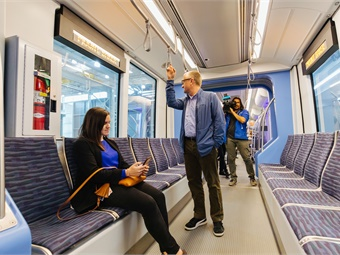 The new vehicles will also feature several improvements in on-board systems and passenger experience over the current Kinkisharyo-built fleet.