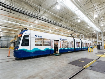 Sound Transit ordered 122 LRVs from Siemens in September 2016, adding another order for 30 more LRVs in April 2017. Sound Transit