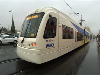Two pilot LRVs will be overhauled at the Siemens Mobility West Coast Rail Services Hub, located in greater Sacramento, Calif. Siemens
