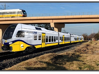 Customers will see the Silver Line in operation after completion in 2022 with 30-minute peak and 60-minute off-peak service. DART