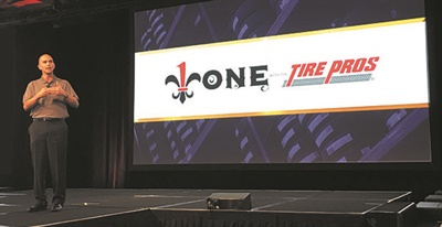 """Ron Sinclair sees more room for growth in the Tire Pros network. """"I feel very confident over the next five years we can build to 1,000 dealers."""""""