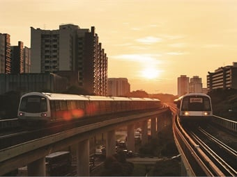 Singapore tops a new urban mobility readiness index, which ranks how prepared cities are to incorporate the latest mobility technologies.SMRT