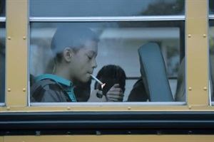 In an effort to curb tobacco use among youths, ClearWay Minnesota has launched a commercial that depicts school bus passengers lighting up.