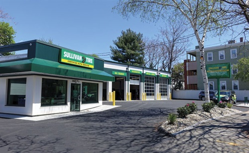 Sullivan Tire Co. Inc. celebrated the opening of its new store in Somerville, Mass., with an open house in May. The company purchased and renovated the 7,500-square-foot building.