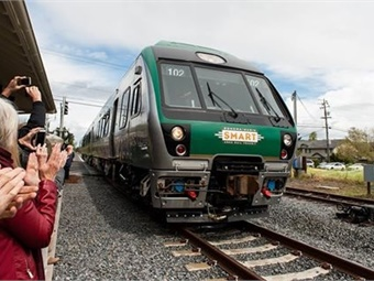 The project is a 2.1-mile extension to SMART's existing 43-mile commuter rail line. The extension will run from downtown San Rafael to the Golden Gate Transit Larkspur Ferry terminal in Marin County, providing an alternative to travel on U.S. Highway 101.