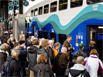 Sound Transit has completed implementation and certification of Positive Train Control (PTC) on all Sounder commuter rail vehicles that run between Lakewood and Everett. Photo: Sound Transit