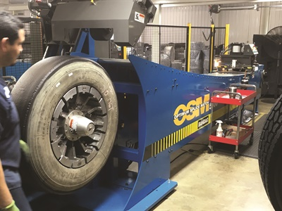 Southern Tire Mart's John Boynton says the company is optimistic the quality of all import tires will continue to improve, providing more of a retreadable tire. Courtesy of Southern Tire Mart