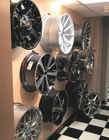 Tire dealers are often overwhelmed by the growing number of tire SKUs, but wheels are another monster. Chris Misero says any model year of a Honda Accord has 10 or 12 wheel options. BMW and Mercedes usually introduce a new wheel for every new vehicle model.
