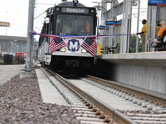 The new Cortex MetroLink Station offers another transportation option for current and future workers in the Cortex Innovation Community and throughout the St. Louis central corridor. St. Louis Metro Transit