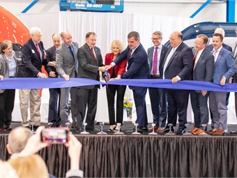 Stadler officials were joined by state and federal dignitaries, as well as APTA's President/CEO Paul Skoutelas.