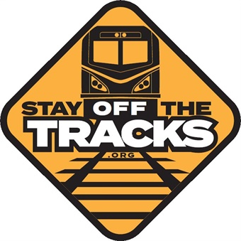 The Amtrak Police Department has a safety campaign called Stay Off the Tracks.